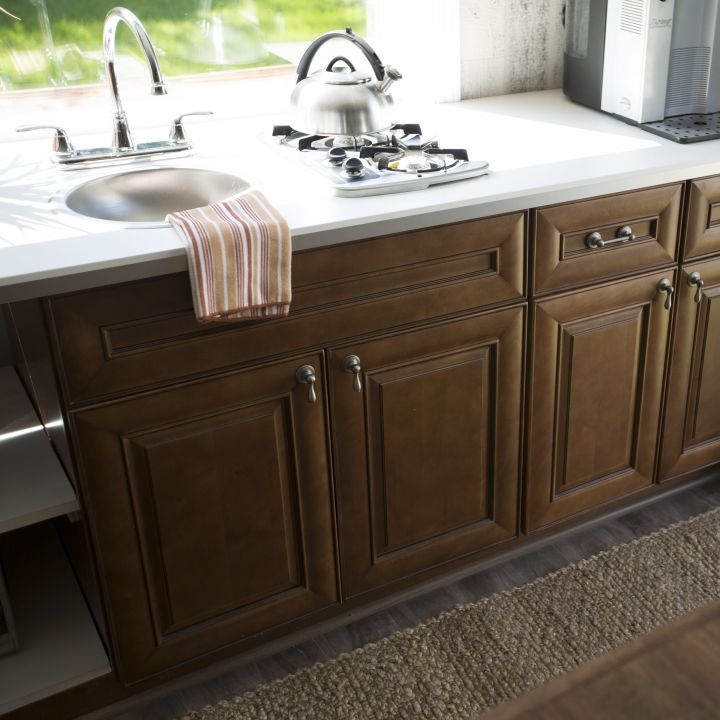 Maximize Counter Space In Your Tiny Home By Using A Two