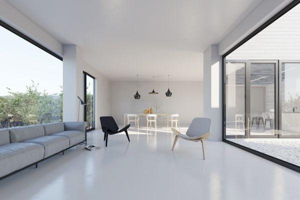 Urban villa on Behance