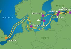 12 Night Scandinavia And Russia Cruise | Vacations to go ...