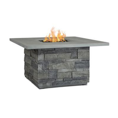 real flame ledgestone square liquid propane fire table grey in 2018 rh pinterest com