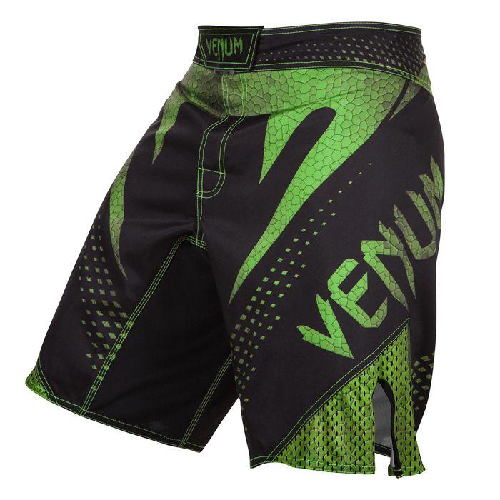 Venum Hurricane Fightshorts Black Neo Yellow Vigor Sport Fight Shorts Fight Wear Mma Shorts