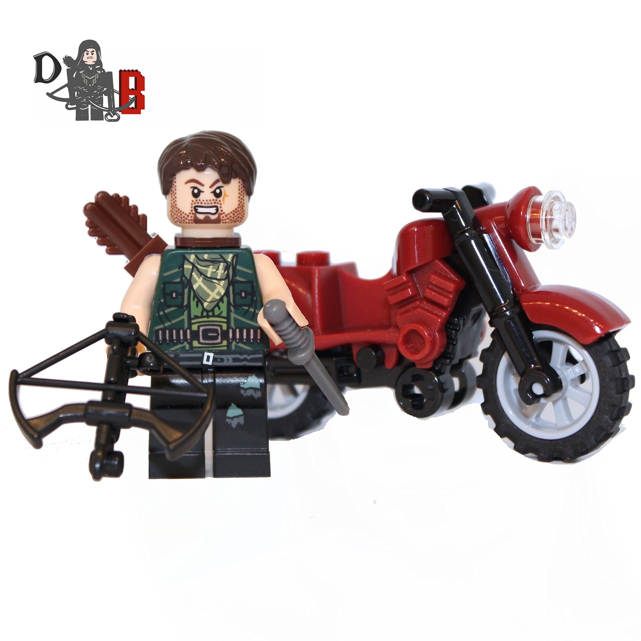 Made using LEGO /& custom parts Game of Thrones Tormund Giantsbane Minifigure