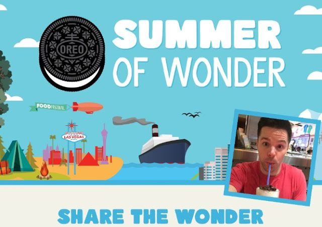 The Oreo Summer Of Wonder Sweepstakes Win A Vacation