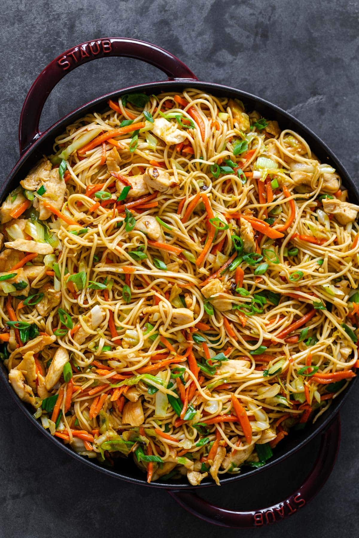 Homemade chicken chow mein is way better than takeout a