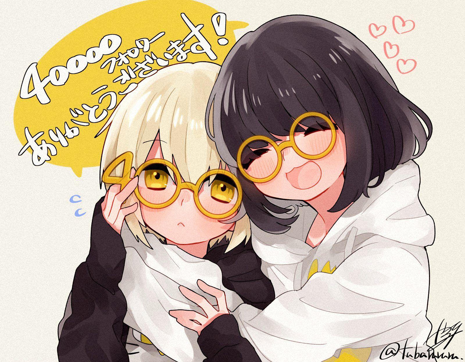 椿つばる On Twitter Friend Anime Anime Art Girl Anime Drawings Sketches