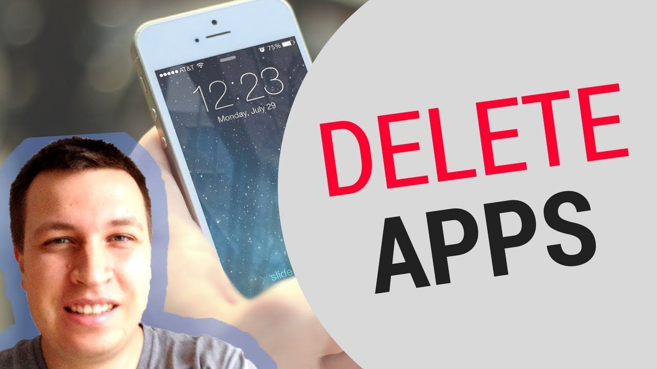 How to DELETE APPS on iPHONE 2018? App, Iphone, Latest video