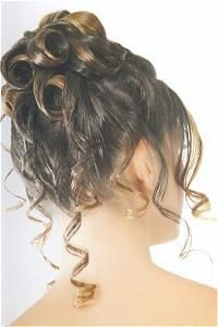 DIY Wedding Hair : DIY Pinned Curls