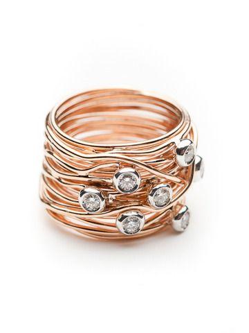 1b238f176c39 Mattioli Tibet Ring With Diamonds by Mattioli from Amanda Pinson Jewelry