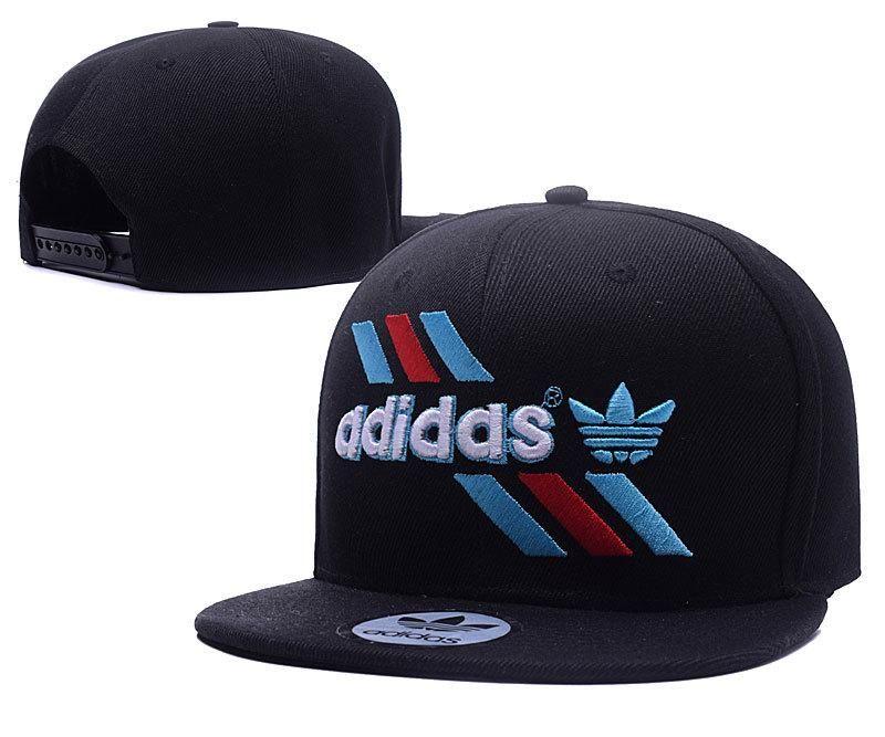 Men s Adidas The Adidas Originals Logo Tripple Stripes Baseball Snapback Hat … 100d9a66f7c