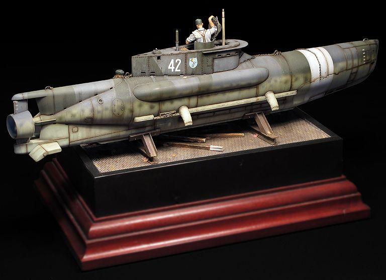 Seehund XXVIIB/B5 1/35 Scale Model Diorama