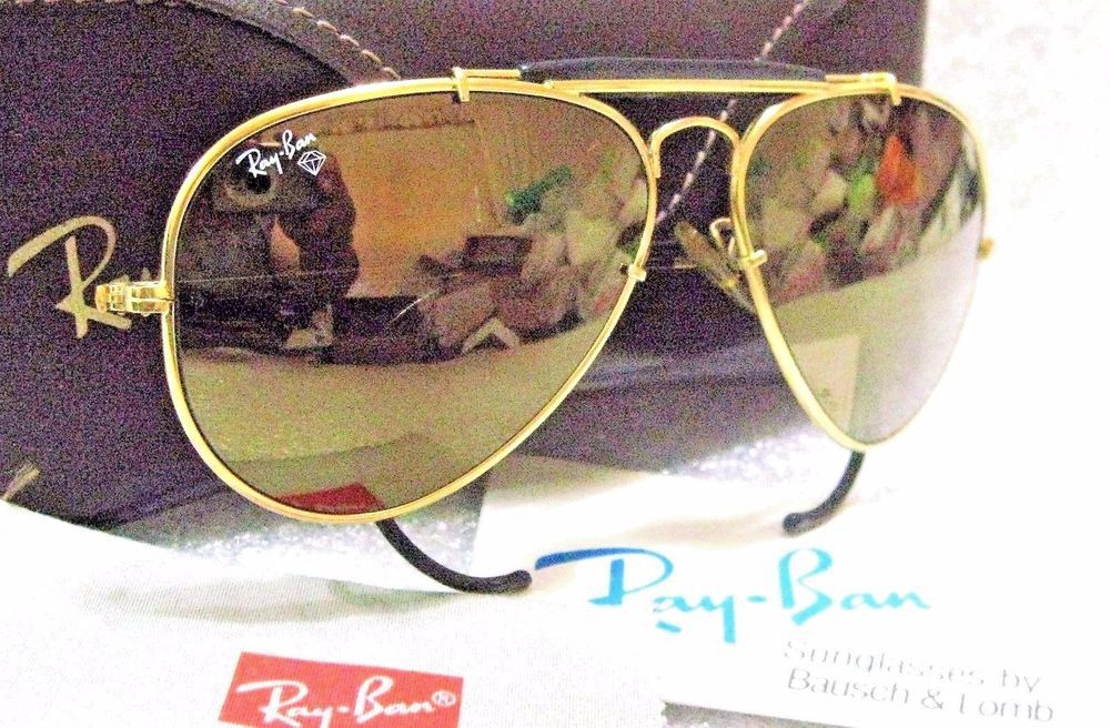 73f2d843c8 RAY-BAN VINTAGE B L AVIATOR  Diamond Hard Survivor W1506-BLACK  NOS  SUNGLASSES  RayBanbyBauschLomb   AviatorOutdoorsmanSurvivorCollectionW1506Black
