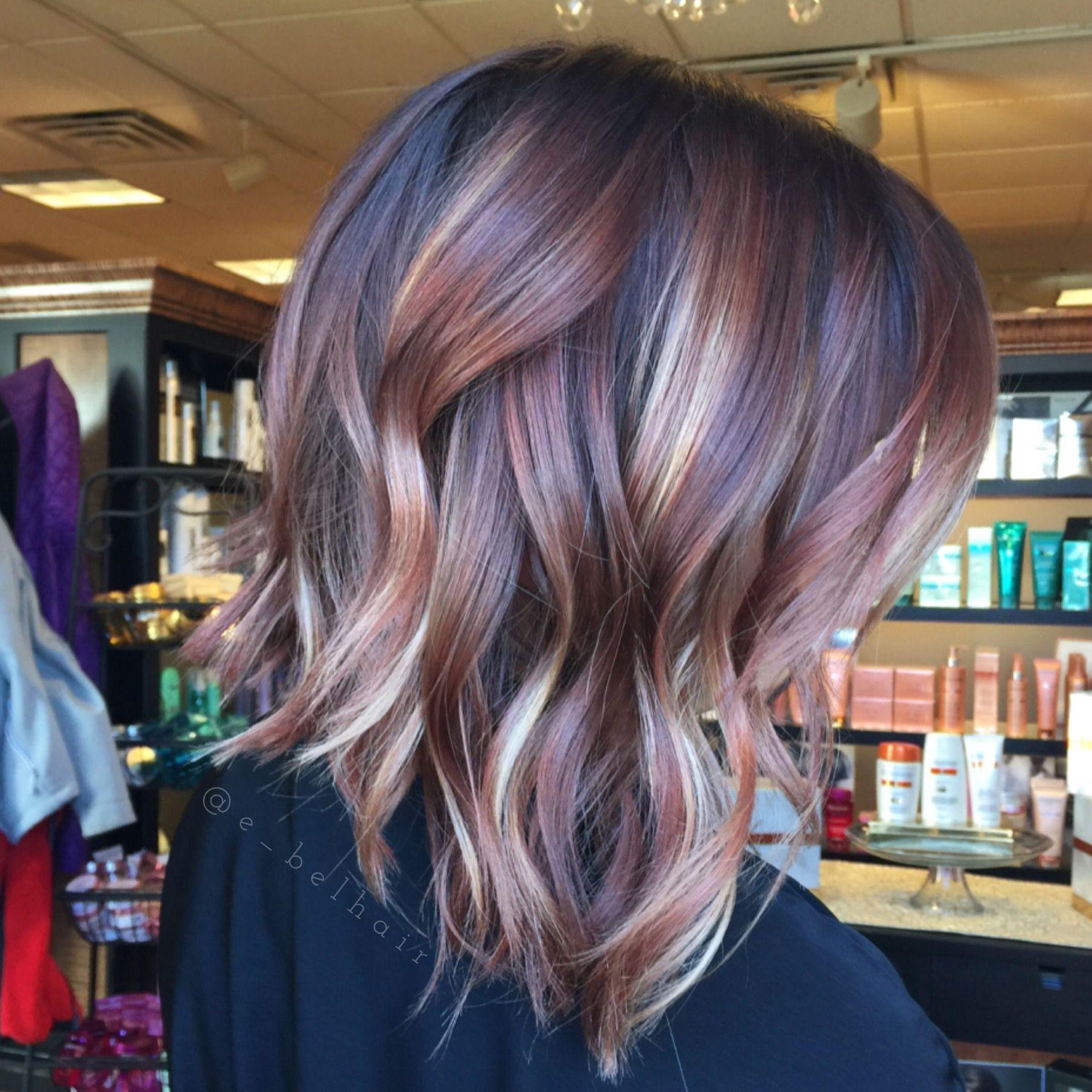 Multi dimensional hair color | Hair by Emily Belcher ...