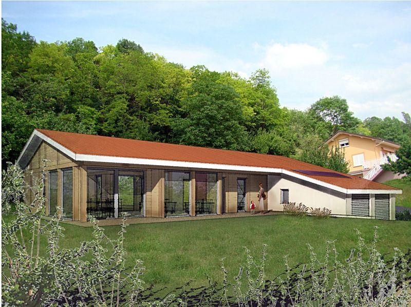 Maison plain pied BBC - Wood Mountain - Promoteur en habitat