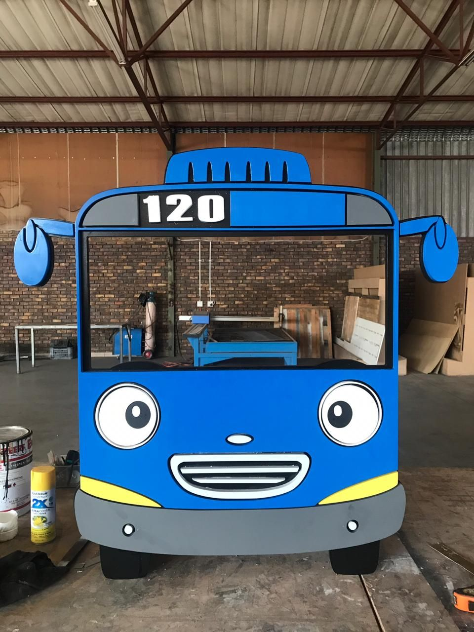 Tayo The Little Bus Themed Party Tayo El Pequeno Autobus Fiesta De Gatito Cumpleanos De Coches