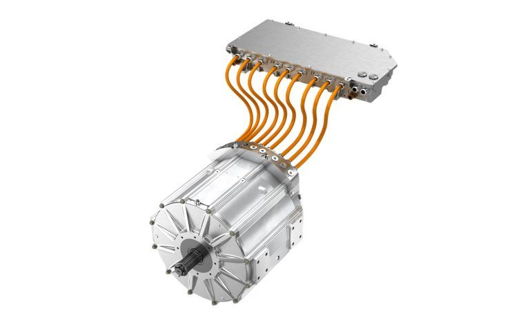 Direct Drive Electric Powertrain Tm4 Electric Car Conversion Electricity Electric Motor