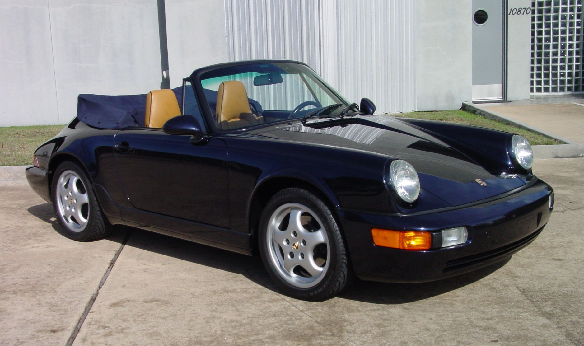 1994 porsche 964 cabriolet rpm sportscars houston texas. Black Bedroom Furniture Sets. Home Design Ideas