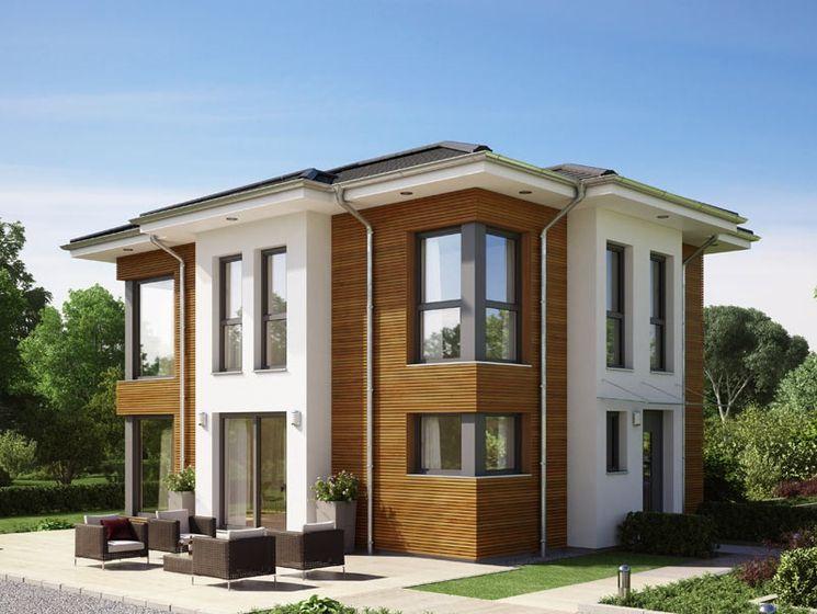 Haus bauen modern klinker  Evolution 122 hat viele unterschiedliche Gesichter. Ganz modern ...