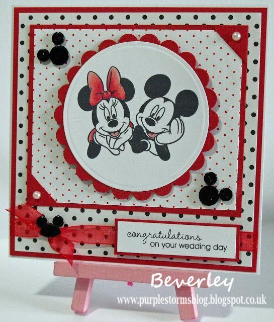 Mickey Minnie Mouse Wedding Card Wedding Cards Mickey Mouse Wedding Disney Wedding Quotes