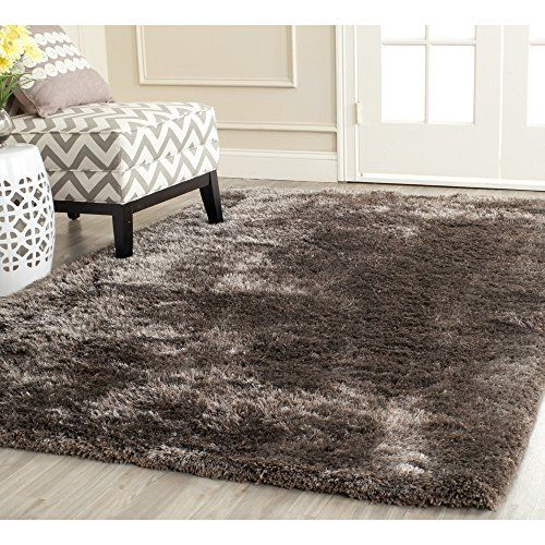 Safavieh South Beach Collection SBS562D Handmade Latte Polyester Area Rug, 5 feet by 8 feet (5′ x 8′) #handmade The Safavieh South Beach Shag Collection, with its soft, luxurious deep pile, is the perfect, modern accent for your home. The sturdy cotton backing and rich, high-density polyester fabric will ensuring high durability and a long life. The warm colors and soft feel make this the perfect rug to fill that empty space in your home. The handmade and hand-woven construction add ..