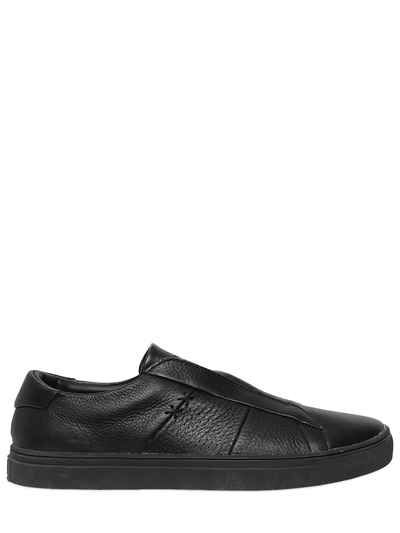 ONITSUKA TIGER APPIAN LEATHER SLIP ON SNEAKERS