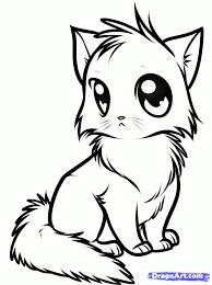 Картинки по запросу cute cat artwork | Рисунок, Аниме ...
