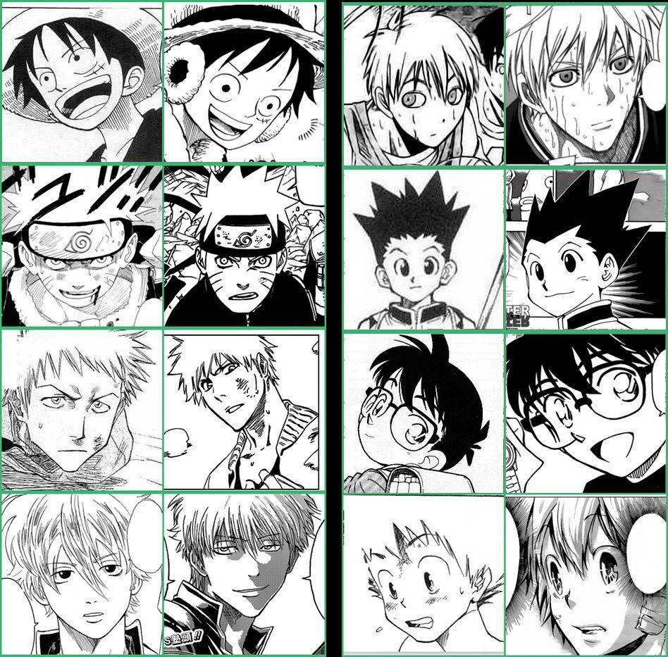 Changes Of Drawing Style Kuroko Kun Anime Love Anime Kuroko