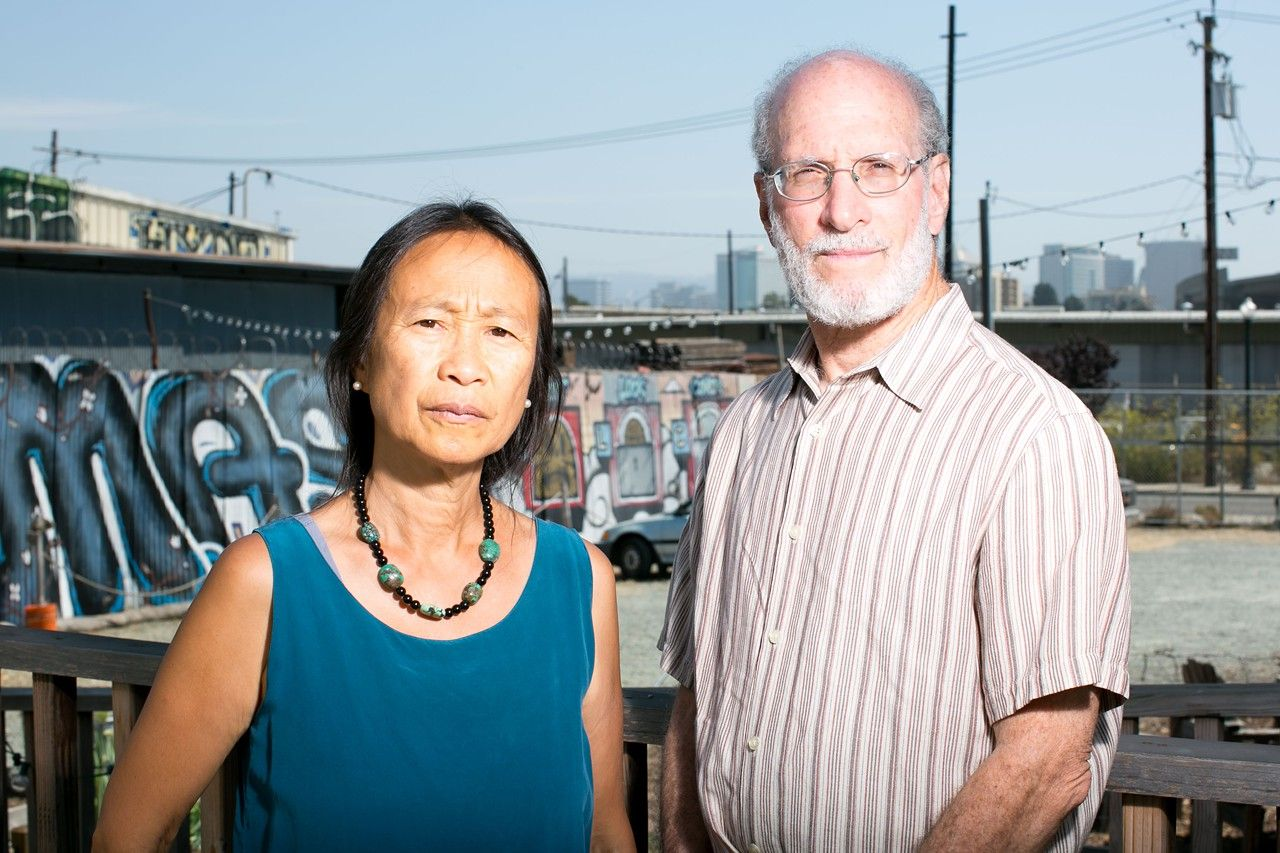 Bert Johnson Local Environmental Activists Lora Jo Foo And Aaron Reaven Traveled To Utah To Protest A Planned Invest Oakland Environmental Activist Army Base