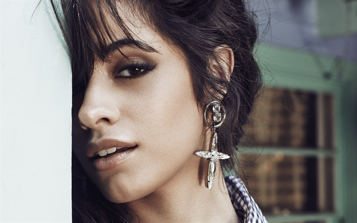 Download wallpapers Camila Cabello, portrait, american