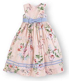 7bc682d794 Laura Ashley London 2T-6X Sleeveless Floral-Print Dress