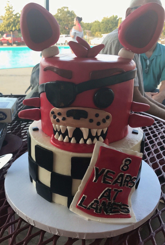 Five nights at freddies cake birthday cake cake boy