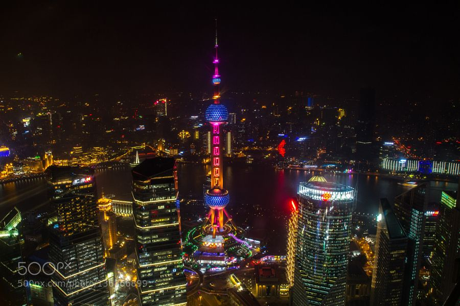 Popular on 500px : Oriental Pearl Tower Shanghai by gillesderais