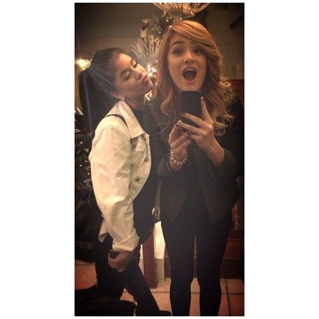 Zoe and Chachi so cute