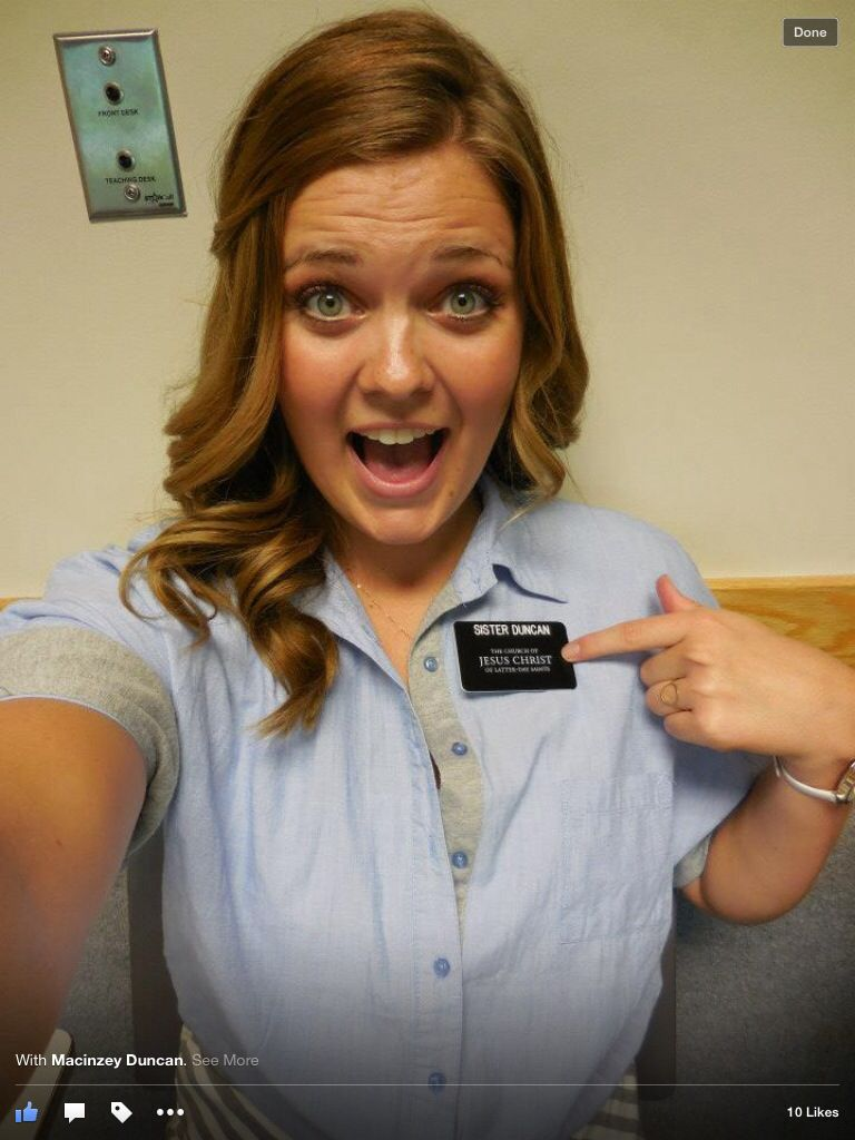 Cutest Missionary Ever...pretty 19 Year Old Girls Go On