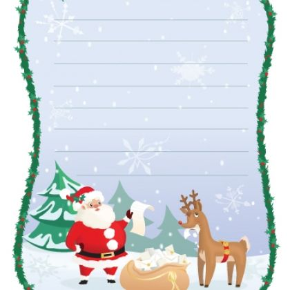 Kids Christmas Wish List Printable!!!!!! So cute! (when you click - printable christmas list template