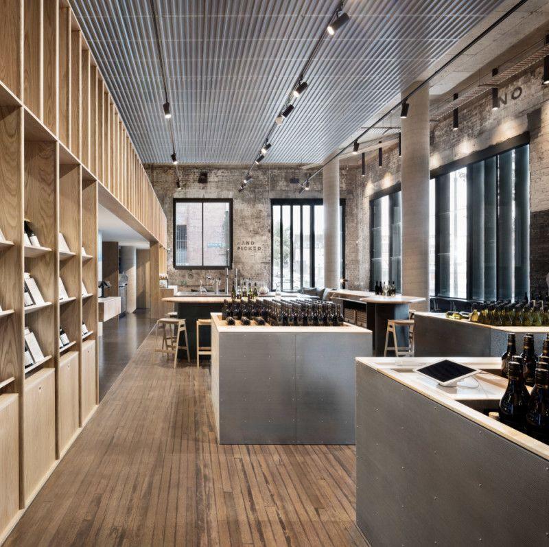 Handpicked Wines Cellar Door By Designoffice Syndey Nsw