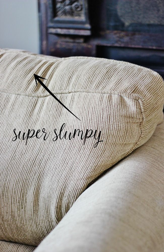How To Fix Sagging Couch Cushions Cushions On Sofa Fix
