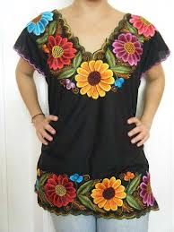 Traditional Mexican Shirt With Apliques Will Wear Pinterest