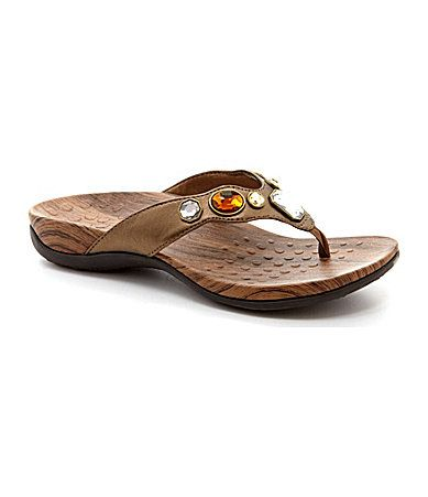 afd830e64318 Vionic with Orthaheel Technology Jeweled Eve Sandals  Dillards ...