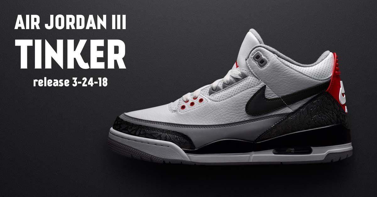 Interested in the Air Jordan 3 Tinker? Get Links to Buy These Air Jordan 3s