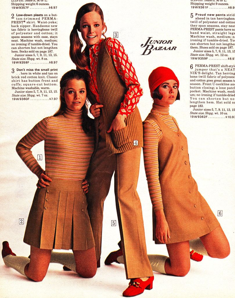 Sears 70 fw beige outfits