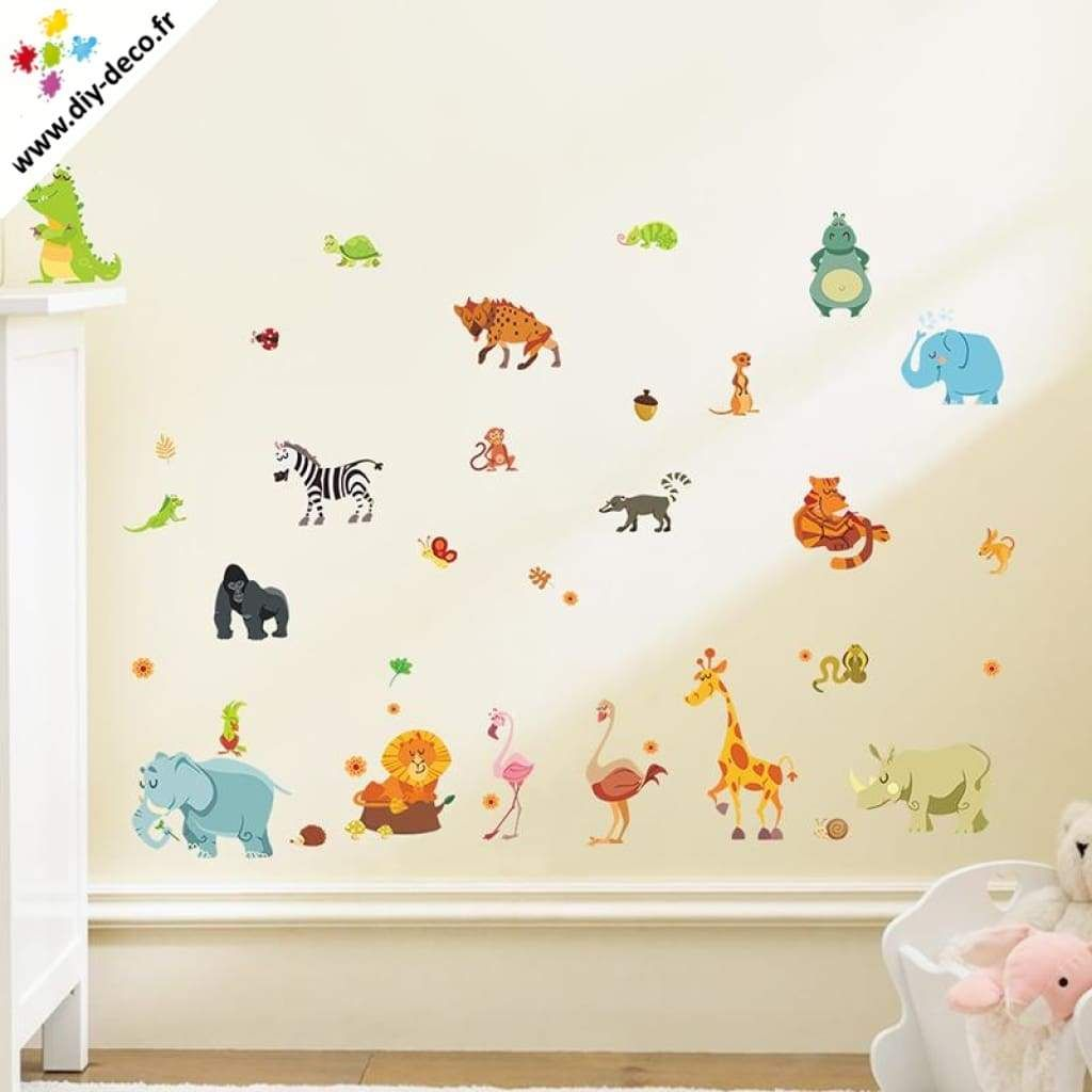 Stickers Chambre D Enfant Stickers Chambre D Enfant Animaux Stickers Muraux Pinterest