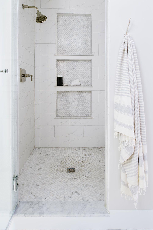 Form & Function: Shower Ledges — Alison Giese Interiors #showerremodel
