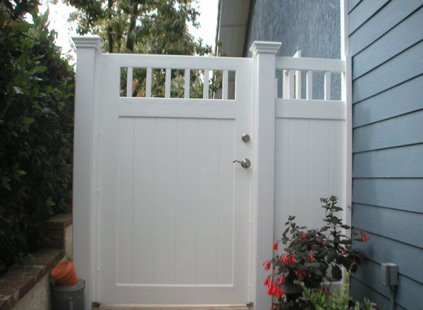 Vinyl Mart Depot Privacy Gates Outdoor Living In 2019