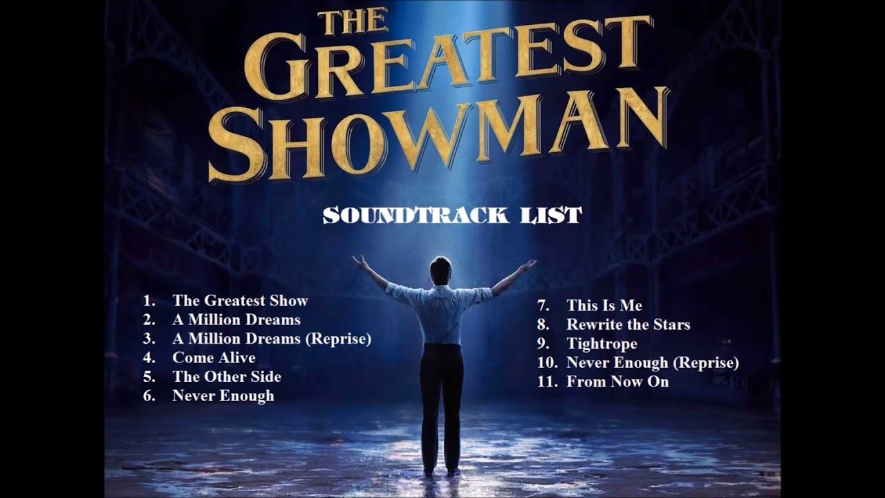 The greatest showman Sound Track List | The Greatest Showman