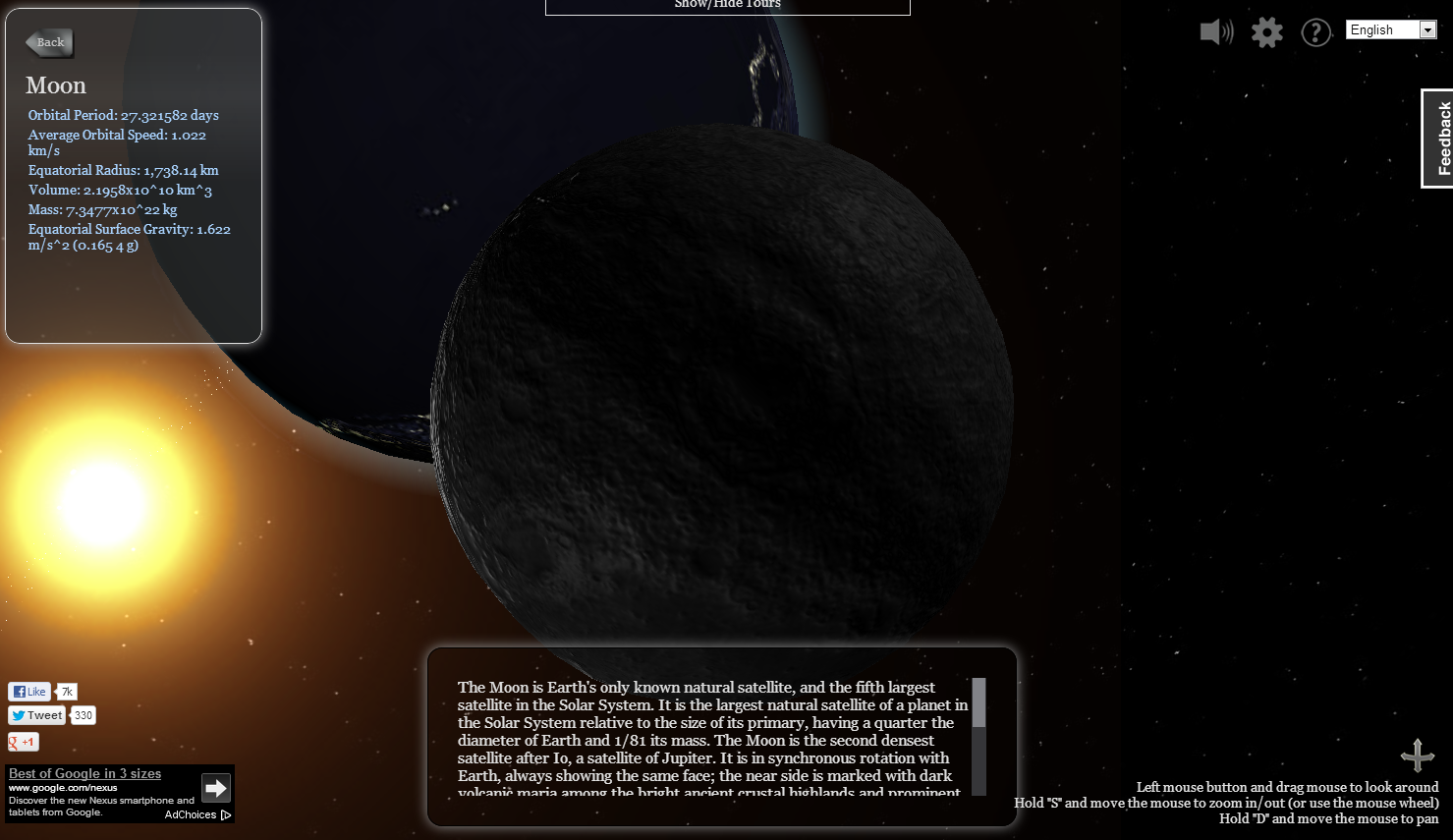 Take a Narrated Tour of the Solar System | Solar system ...