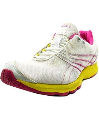 ASICS ASICS GEL-SAYURI WOMEN ROUND TOE SYNTHETIC WHITE RUNNING SHOE. #asics  #