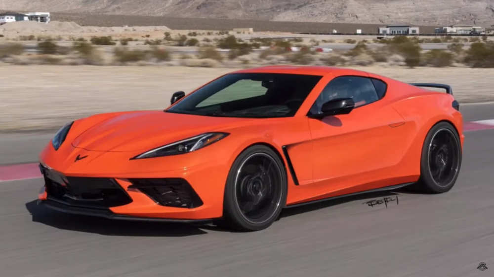 The Hard Truth Is The C8 Chevy Corvette Looks Better As A Front-Engine Car