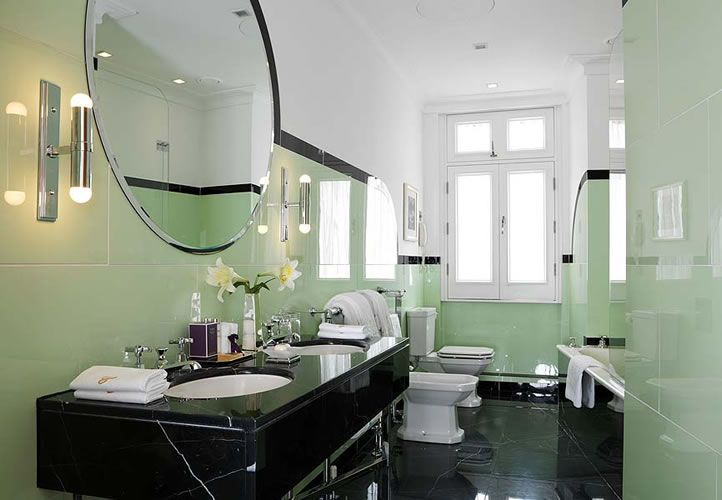 Linley suite bath Claridges | Art deco bathroom, Art deco ...
