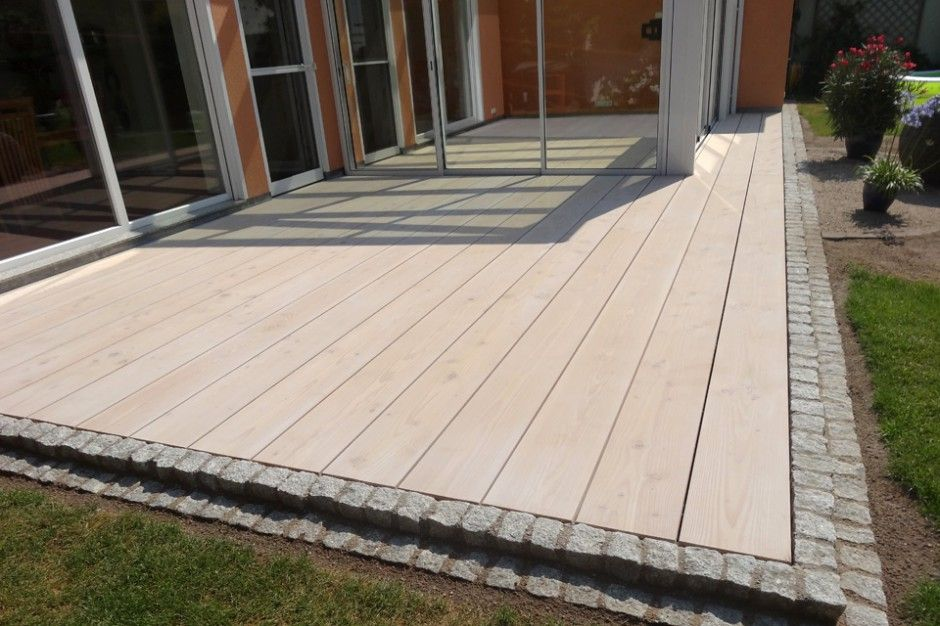 Holzterrasse Umrandung Image Result For Wpc Terrasse Pflaster übergang | Projects