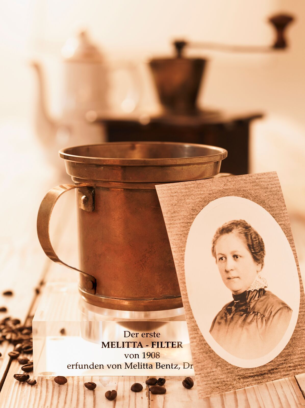 Our founder Melitta Bentz was a housewife who became a successful entrepreneur when she invented ...